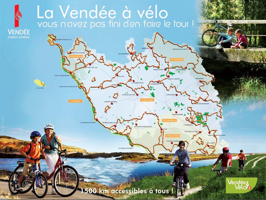 La vendée à vélo - Résid'Azur - Saint Jean de Monts